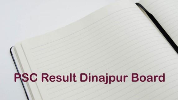 PSC Result 2020 Dinajpur Education Board